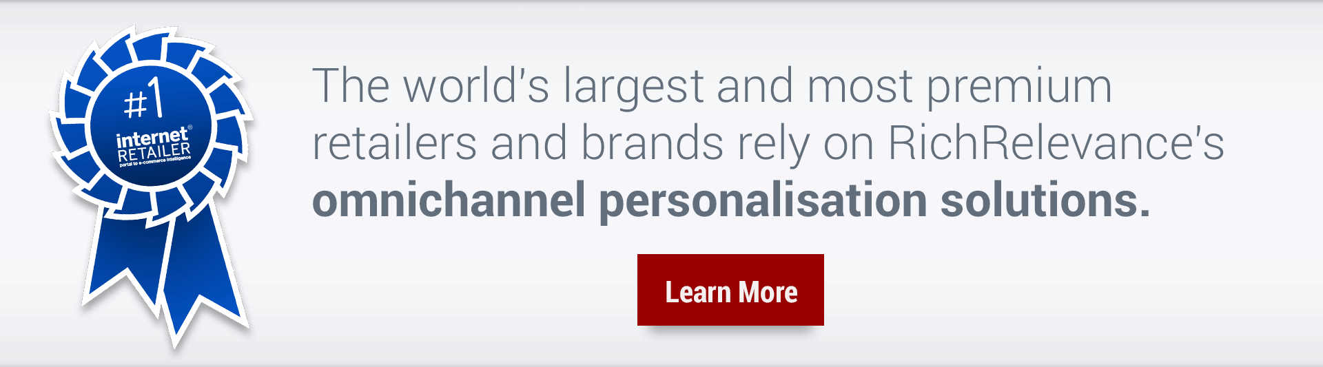 Learn more about RichRelevance's leading personalisation solutions