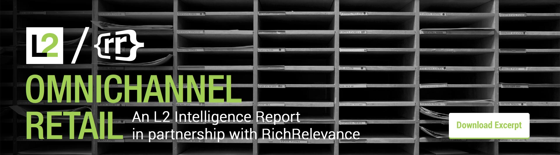 Download an excerpt of the L2 Omnichannel Study